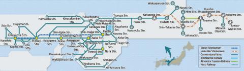 Kansai-Hokuriku Area Pass