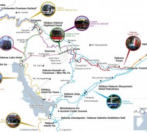 Hakoné Free Pass (détail)