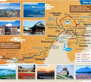 Mt. Fuji-Shizuoka Area Tourist Pass Mini